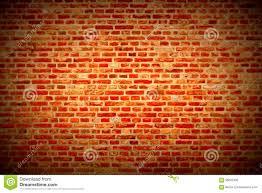brick wall horizontal background with red orange and brown bricks
