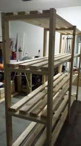 Building Wood Shelf Garage by Best 25 Garage Shelf Ideas On Pinterest Garage Shelving