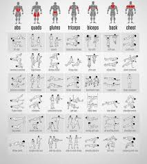 Bedroom Workout No Equipment Workouts Without Equipment For Chest Most Popular Workout Programs