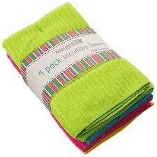 scotch green and white stripe dish towel kitchen towels dish cloths home furniture diy ebay