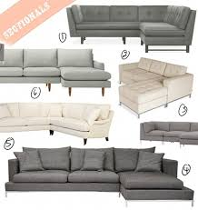 gus jane sofa our new apt the hunt for the perfect sectional u2013 design sponge