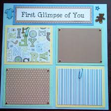 scrapbook inserts best 25 baby boy scrapbook ideas on scrapbook ideas