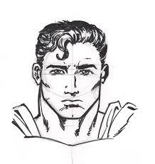 sketch superman pollomaxx deviantart