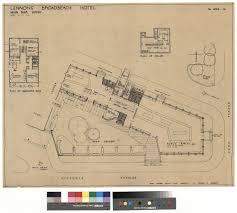 floor plan of a hotel lennon u0027s broadbeach hotel main bar wing c1954 to 1957 uq espace