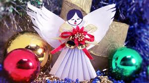 Christmas Angel Window Decorations by 5 Minutes Xmas Diy Christmas Angel Decoration Youtube