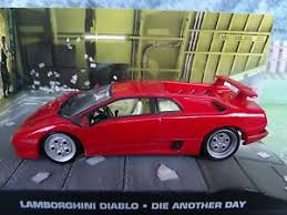 lamborghini diablo ebay 1 43 lamborghini diablo bond die another day 007 series
