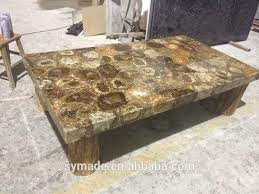 Marble Table Tops For Sale by Petrified Wood Coffee Table Petrified Wood Coffee Table
