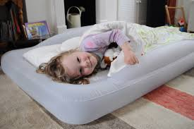 Toddler Bed Rails For Traveling The Shrunks Indoor Tuckaire Toddler Travel Bed Review Travel
