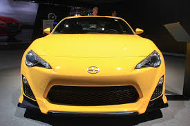 scion yellow 2014 scion fr s release series 1 0 debuts in new york live photos