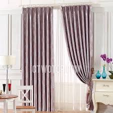 dark pink jacquard polyester dining room curtains ideas