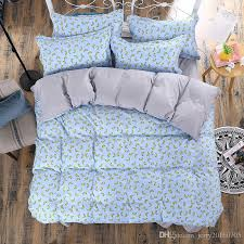 Cheap Full Bedding Sets by 2016 Cheap 3d Bedding Sets Charming Blue Roses Pattern Design
