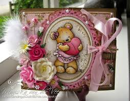 wild orchid crafts a very girly birthday card