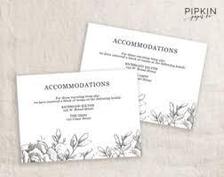 wedding registry templates premium printable wedding invitations and by pipkinpapercompany