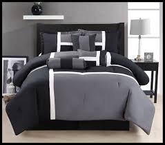 Black California King Comforter Sets Black White And Grey Gray Comforter Set King Size Bedding 7 Piece