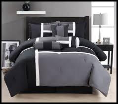 Black And White Comforter Set King Black White And Grey Gray Comforter Set King Size Bedding 7 Piece