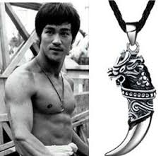 choker necklace man images New arrival fashion men 39 s jewelry titanium steel dragon head jpg