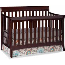 Best Baby Cribs by Storkcraft Avalon 4 In 1 Convertible Crib Espresso Walmart Com