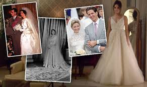 meghan markle wedding dress former royal brides prince harry u0027s