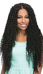 crochet black hair photos amazon com kinky curl 24 braid 1 jet black outre x pression