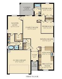 capri new home plan in bella vida executive homes by lennar