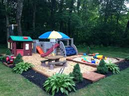 Kid Friendly Backyard Ideas On A Budget Backyard Play Area Small Backyard Landscaping Ideas For With