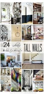 24 ways to decorate like you re an old hollywood star 24 ways to decorate tall walls those large high walls can be so