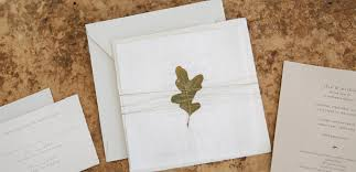 paper for wedding invitations organic torn paper wedding invitation tiny pine press