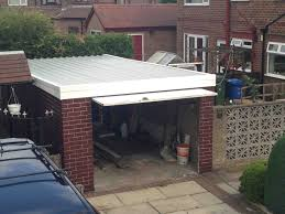 garage flat roof framing methods pitched roof house designs
