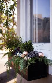 Lighted Christmas Window Decorations by Best 20 Christmas Window Boxes Ideas On Pinterest Winter Window