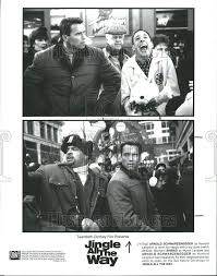 1996 press photo arnold schwarzenegger howard longston sinbad