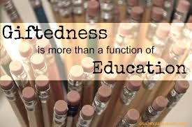 giftedness is more than a function of education crushing tall