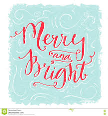 merry christmas vintage text card stock image image 35745091