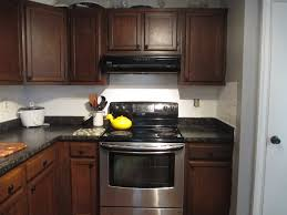 brick tiles floor set kitchen color schemes cabinets dark round