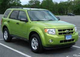 Ford Escape Suv - file 2nd ford escape hybrid 04 29 2011 1 jpg wikimedia commons