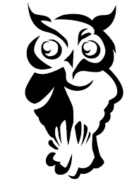 free printable owl template coloring home