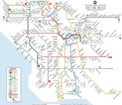 Washington Metro Map by Could La U0027s Rail System Ever Look Like This Curbed La