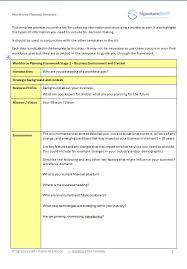 workforce planning tool kit signature staff