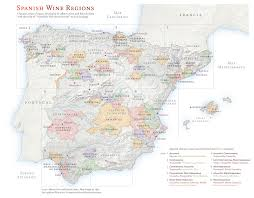 Spain Regions Map by Sensational Spain Unique Terroir Driven Wines With Oleimports