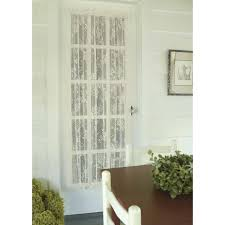 english ivy lace door panel country village shoppe