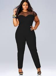 plus size black jumpsuit black jumpsuits plus size vsw fashion