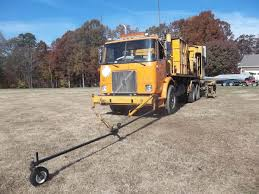 volvo truck dealer greensboro nc 1997 volvo wx64 highway paint truck spray equipment