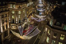 regent street u0027s christmas 2017 lights are switched on today