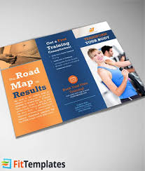 2 fold brochure template tri fold brochure template from fittemplates