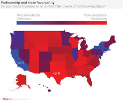 Map Of Midwestern States by Yougov Not All States Are Red Or Blue In Search Of The Purple
