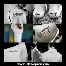 2 word quotes tattoos