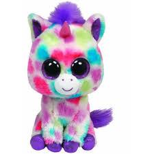 ty beanie boos wishful unicorn plush toy walmart