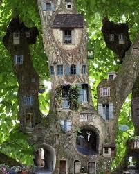 35 beautiful tree house ideas tree stump fairy and gardens