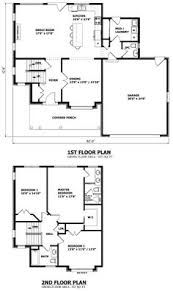2 Story Modern House Plans Two Story House Plans With Library Homes Zone