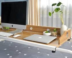 Bed Desks For Laptops Bed Sliding Table Lets You Work And Eat In Bed