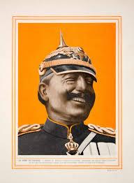 Kaiser Le 1913 Color Print Kaiser Wilhelm Ii German Emperor King Prussia